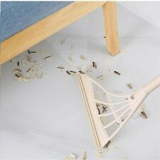 Foldable Broom Smart Silicone Floor Glass Wiper Mopping Household Pet Hair