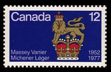 Canada Stamp 12¢ Canadian Governor General Standard 1952-1977 MNH/VF
