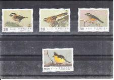 TAIWAN 1990 BIRDS     SET   MNH VF