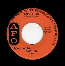 NOLA R & B/POPCORN-TAMMY LYNN-AFO 310-WHERE CAN I GO?/BABY
