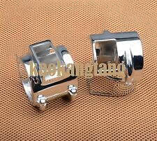 Chrome Switch Housing Cover for Honda Shadow VT600 VT750 VTX1300 VT1300 Spirit
