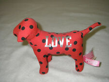 New Victoria's Secret PINK Red Dog With Black Polka Dots
