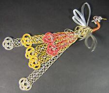 Vintage Japanese Mizuhiki Paper Hoo-oo Phoenix Bird Cord Washi Origami Folk Art
