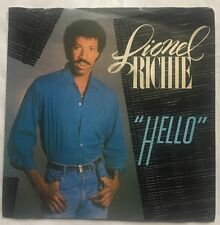 """Lionel Richie - Hello - Motown Records Picture Sleeve 7"""" Single TMG 1330 VG/VG"""