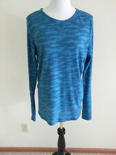 Under Armour All Season Gear turquoise & teal thermal - womens XL fitted