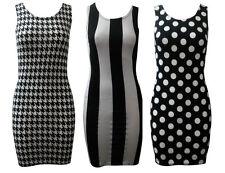 Viscose Casual Dresses Short Stripes for Women