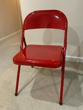 Michael Jordan Autographed Folding Chair from Chicago Stadium
