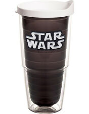 Tervis Star Wars Logo on Black with White Lid 24 OZ