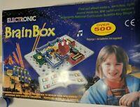 BRAINBOX 500 ELECTRONIC KIT  EXPERIMENTS 5+ EDUCATIONAL RADIO SENSORS LIGHTS +