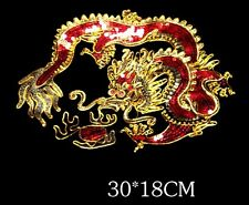 Dragon patch / Sequin Patch / Embroidered patch /Sew on patch/motifs/Applique