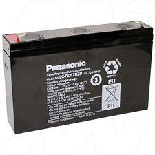 PANASONIC LC-R067R2P 6V 7.2Ah Sealed Lead Acid Standby & Cyclic Battery