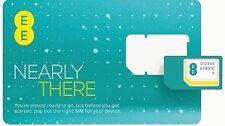 100 x EE PayG Sim Cards. Bulk Wholesale Joblot.4g Sim Brand New