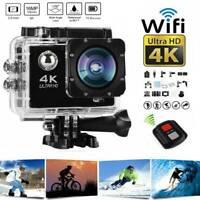 4K Full HD 1080P Waterproof Underwater Sport Camera WiFi Action Camcorder DVR
