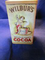 Wilbur Chocolate Co., Inc. No. 408 Breakfast Cocoa Metal Tin Container ECU