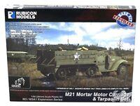 Rubicon 280053 WWII US M21 Mortar Motor Carriage & Tarpaulin Set (Expansion Kit)