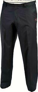 Aveo Men's Lux Flat Front Golf Pants Big & Tall, Black, Size 42 x 34 - 0L_16