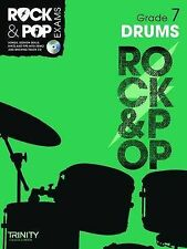Trinity Rock & Pop Exams: Drums Grade 7 by Trinity College London (Mixed media p