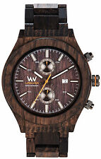 Limited WeWood Laguna Natural Wood Wooden Briccole Venezia Watch Made In Italy