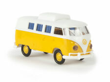 Brekina 31572 VW Camper T1b weiß gelb Hubdach geschlossen Volkswagen 1:87 Neu