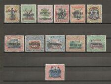 More details for north borneo 1902/12 btw sg d31/49 mint cat £550