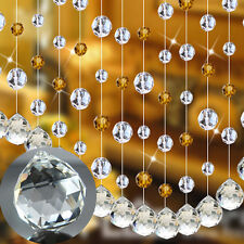 Clear Crystal Glass Chandelier Light Ball Prism Suncatcher Drops Pendant 20mm