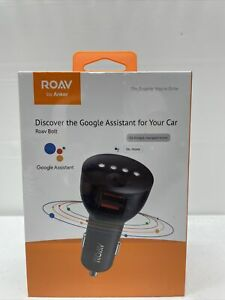 ROAV by Anker Roav Bolt Google Assist R5360Z11 for Your Car.  New, Sealed.