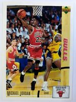 1991-92 Upper Deck International Italian Michael Jordan #38, Chicago Bulls