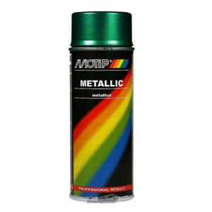 Bombe de peinture - vert métallisé - Motip