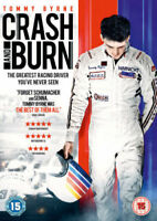 Crash and Burn [DVD] Tommy Bryne Movie Film Gift Idea NEW