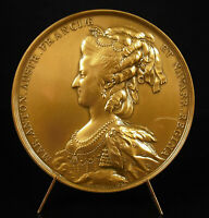 Medal 1978 Louis XVI and Marie Antoinette Queen French and Austria 1781