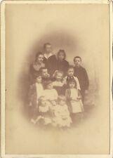 Photo d'un Groupe d'enfants Vintage citrate vers 1900