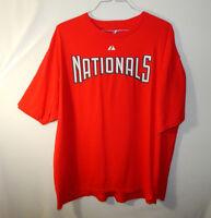 Stephen Strasburg Washington Nationals MLB Baseball T Shirt Majestic XXL 2XL