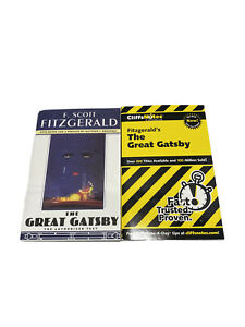 The Great Gatsby by F. Scott Fitzgerald (1995, Paperback, Reprint) & CliffNotes