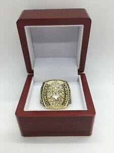 1992 Dallas Cowboys Troy Aikman Super Bowl Championship Ring Set GOLD with Box