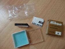 Nikon F Focusing Screen Type R w/ Original Box For- F2S - F2SB- F2AS- F2A F2 F