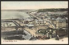 More details for jersey. st. helier. st. helier looking west - vintage tinted postcard