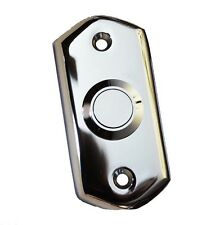 Cromo Pulido Estilo Victoriano Puerta Campana Pulsador Interruptor por Carlisle Brass (AQ31CP)