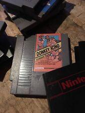 NES Donkey Kong Classics (1988) w Sleeve!! Donkey kong jr