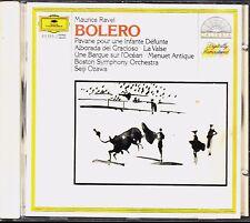 *- CD - BOLERO - Maurice RAVEL - Boston Symphony Orchestra / Seiji OZAWA