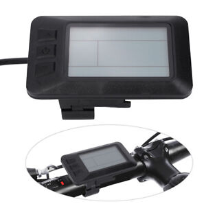 Bike Conversion Electric Parts KT-LCD7 LCD Instrument with Connector USB