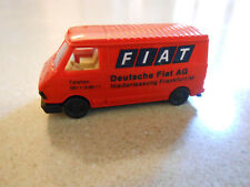 Fiat 242 West Germany Praline 1:87 Scale Van Sold as Shown. No Box