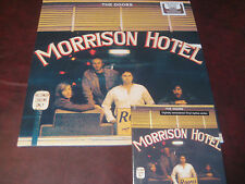 THE DOORS Morrison Hotel 1ST 180 GRAM EDITION PRESSED LP + REPLICA GATEFOLD CD