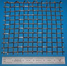 "Brass 3-Mesh 6730 micron Wire 6x6/"" 1.6mm .063/"" .270/"" Wd"
