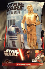 Disney STAR WARS A NEW HOPE 8 Page STORYBOOK PILLOW Brand New Ages 3+