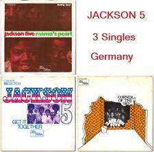 """Michael Jackson & Jackson 5 Get it together, + 2 (3x7"""" Allemagne - '70)"""