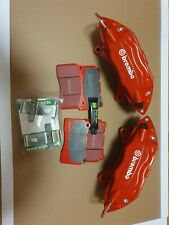 Mitsubishi Evo Brembo Brakes Callipers Calipers And  Red Stuff Pads