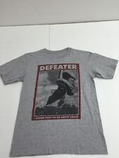 "Defeater ""I Stand Next to an Empty Grave"" Band T-Shirt, Gray, Men's S"