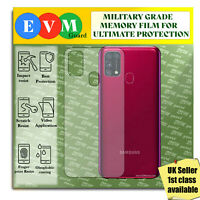 Back Protector For Samsung Galaxy M31 TPU HYDROGEL FILM Clear Cover