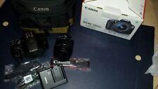 CANON EOS 1300D Kit + EF-S 18-55MM F/3.5-5.6 IS II + stabilizzato+ borsaoriginal