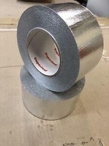 Reinforced Aluminium Foil Tape-Australian Made Product  (16rolls x 72mm x 50m)